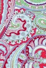 Fabric Finders FF BLUE/GREEN/RED PAISLEY