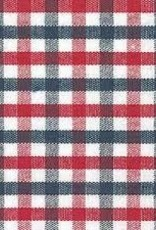 Fabric Finders FF RED / NAVY PLAID