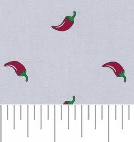 Fabric Finders 2149 FF GREY CHAMBRAY PEPPERS