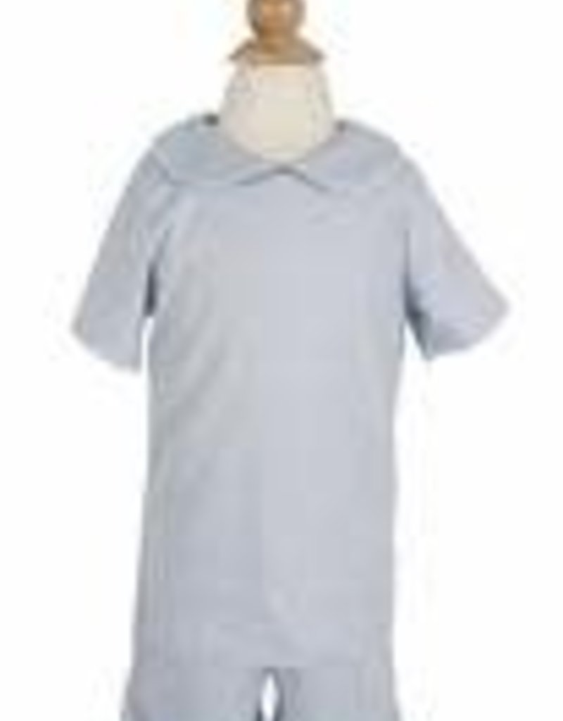 PEANUTS GALLERY BOYS COLLARED LONG SLEEVE SHIRT / SHORTS SET - PREORDER