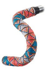 Serfas Woven Bar Tape, Tight Chevron Bright