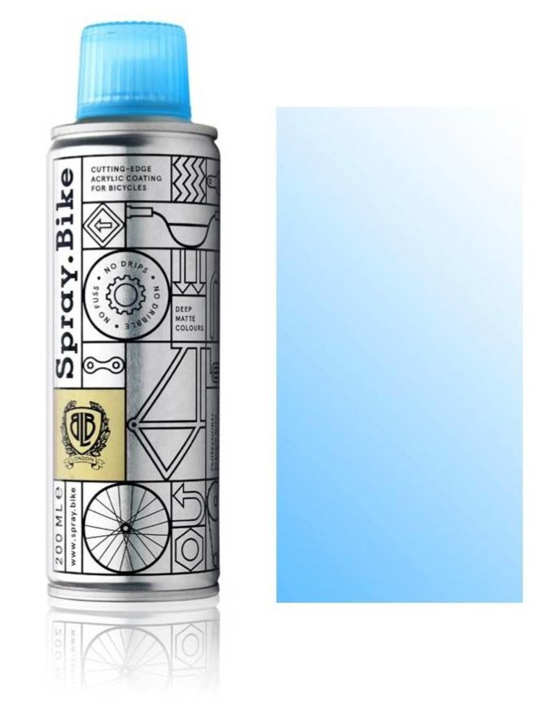 Clear Fluro Blue 200 ml, Spray.Bike