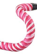 Serfas Ribbon Bar Tape, Chevron Pinks
