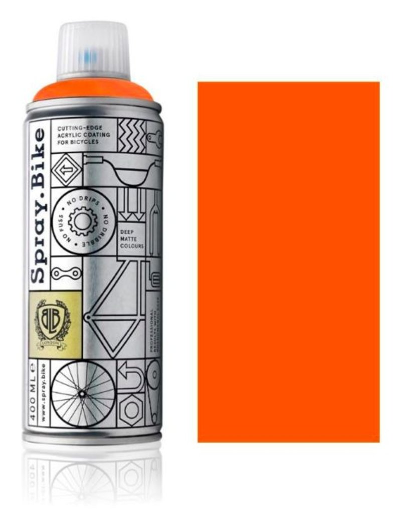 Fluro Orange 400 ml, Spray.Bike