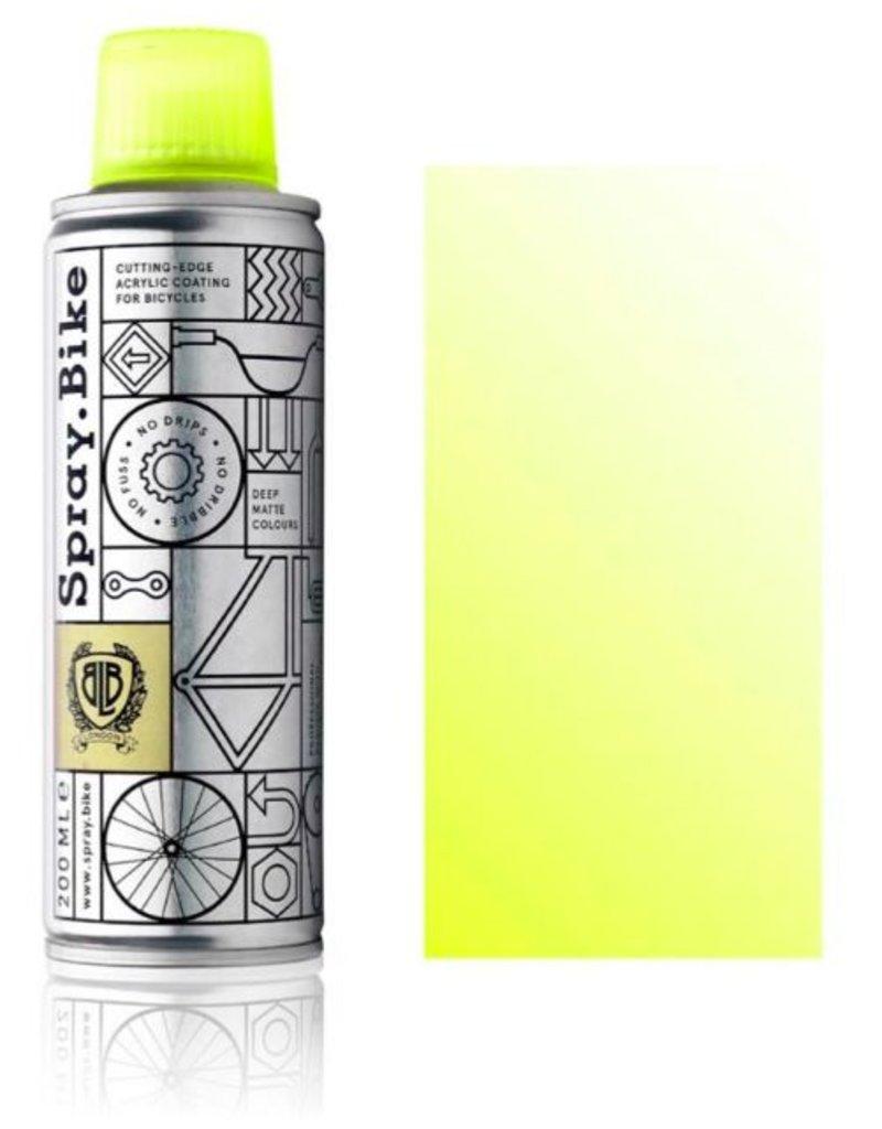 Clear Fluro Yellow 200 ml, Spray.Bike