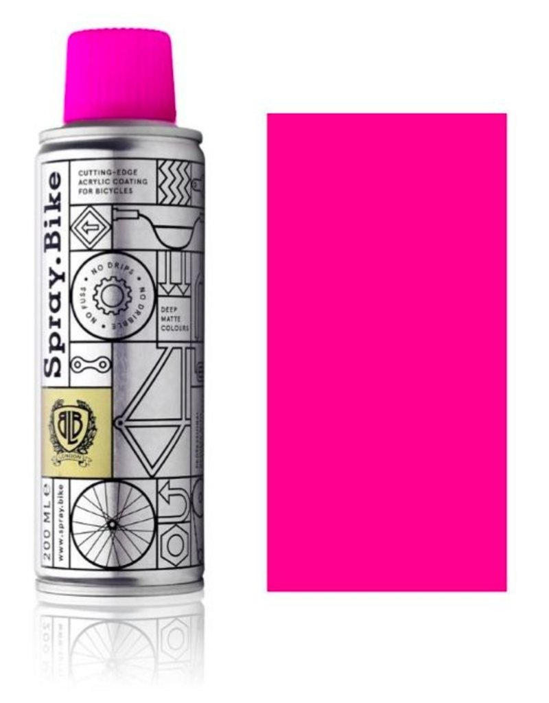 Fluro Pink 200 ml, Spray.Bike
