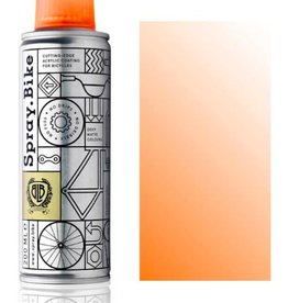 Clear Fluro Orange 200 ml, Spray.Bike