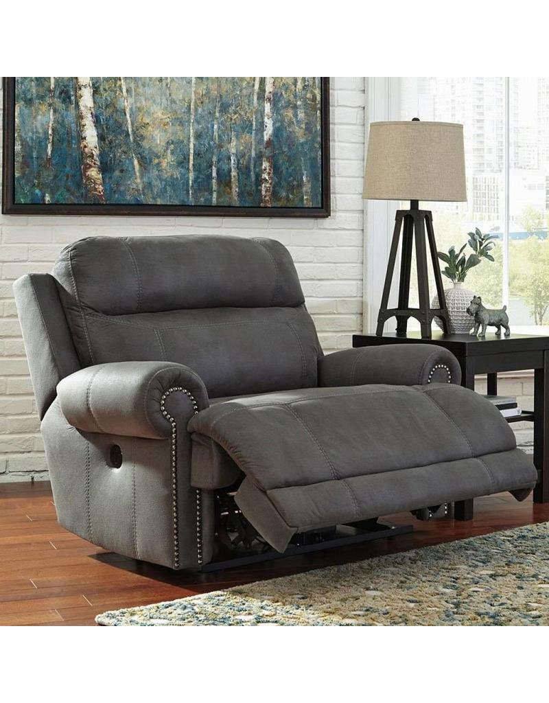 Ashley Furniture Austere Power Reclining Chair  Grey ...
