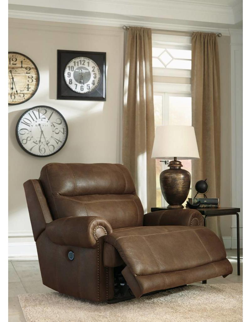 Ashley Furniture Austere Power Reclining Chair  Brown ...