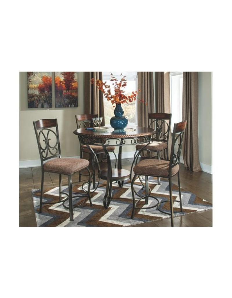 Ashley Furniture Glambrey 5 Pc Counter Height Set ...