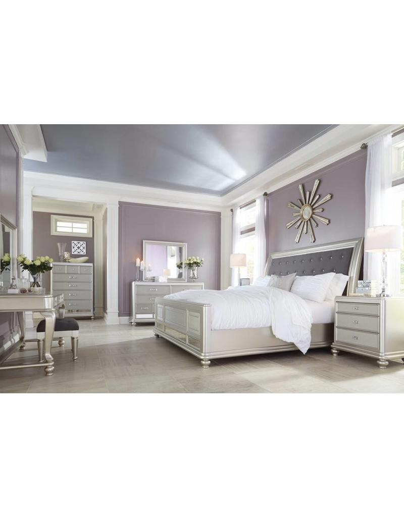 Ashley Furniture Cayne 6 Pc Queen Bedroom Set