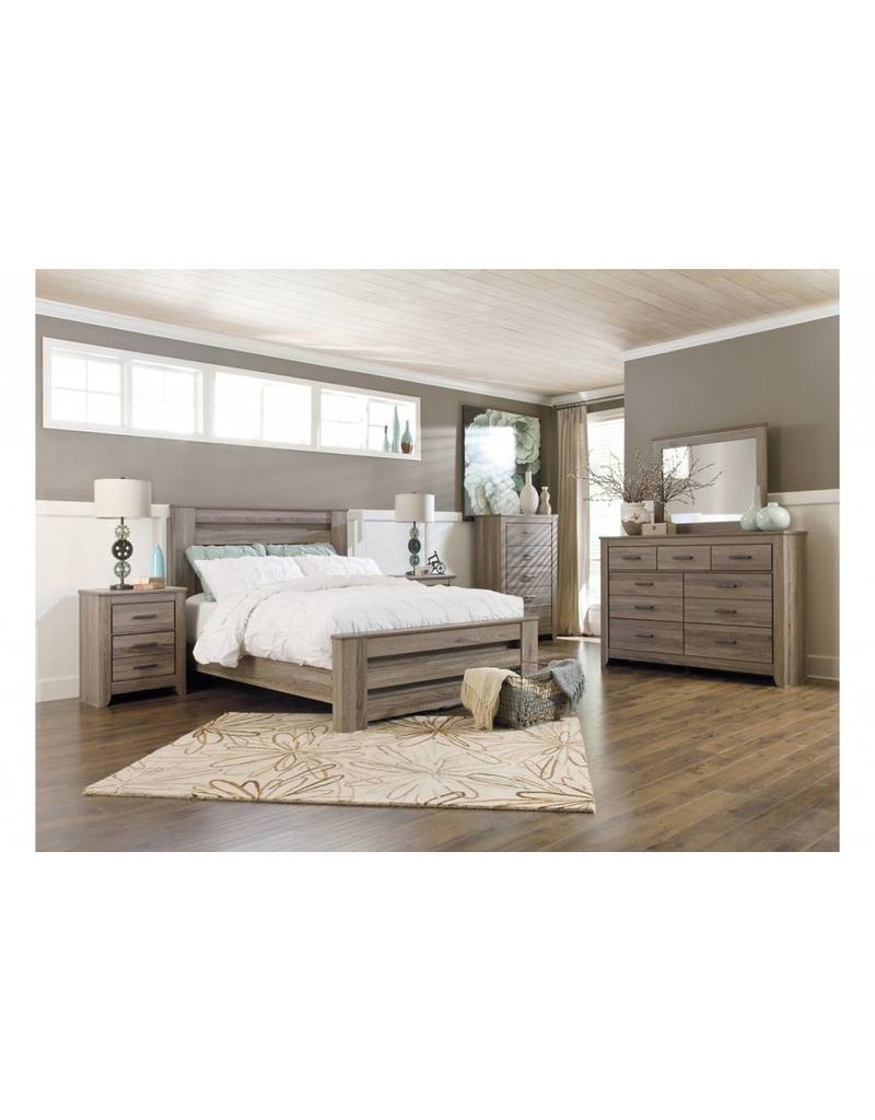 Ashley Furniture Zelen 6 Pc King Bedroom Set ...