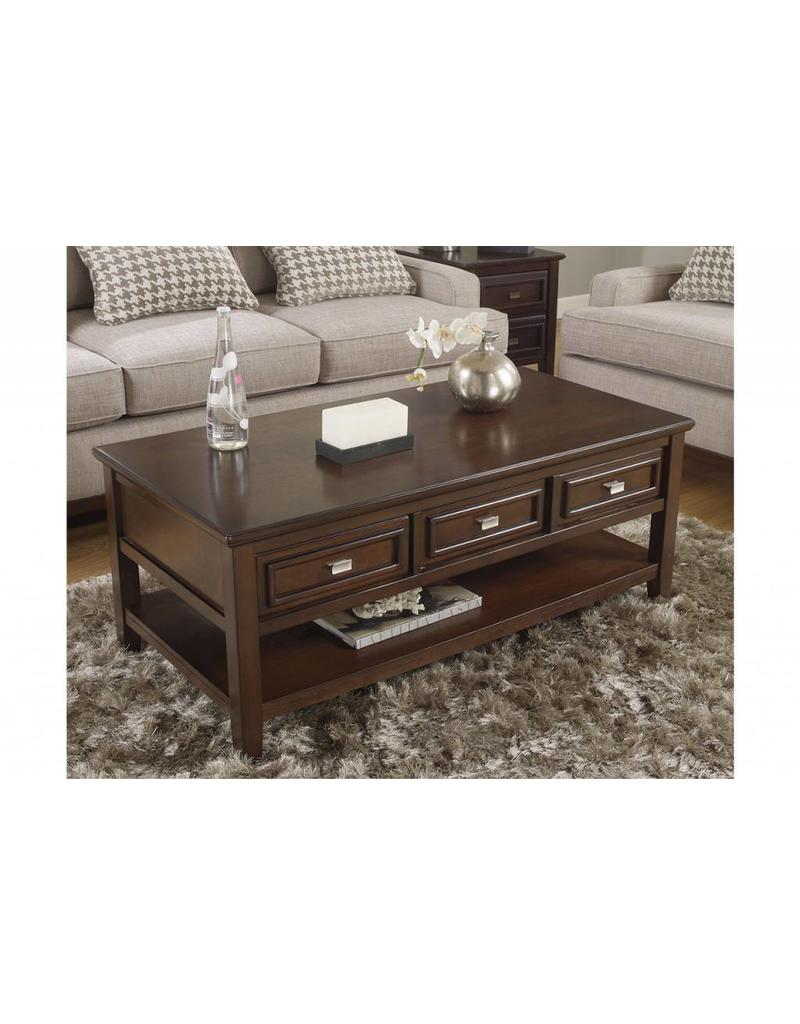 Larimer Rec Coffee Table Livin Style Furniture - Ashley larimer coffee table