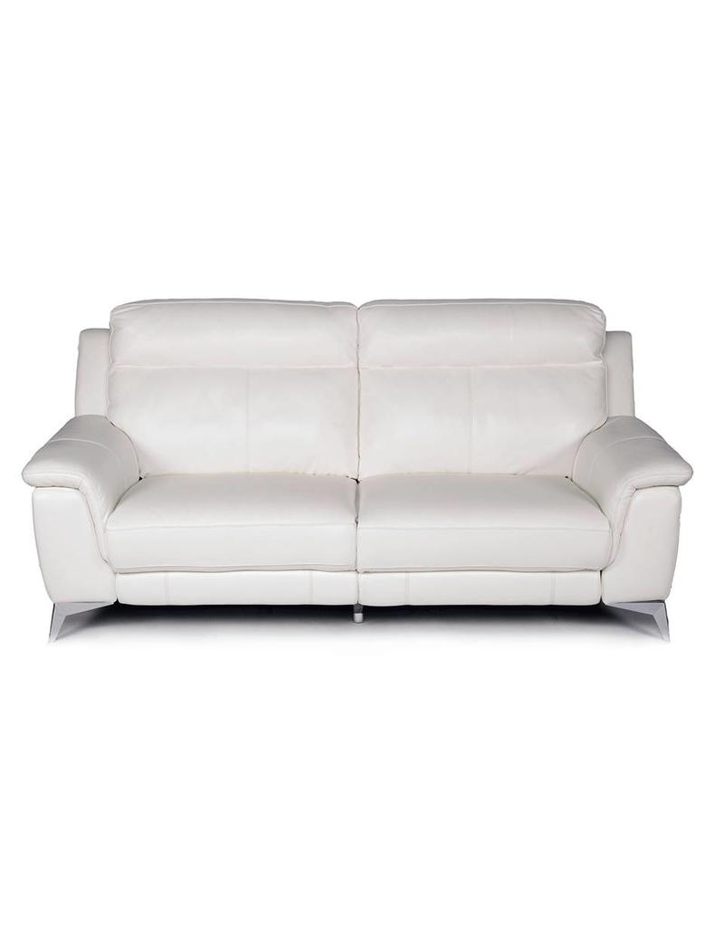 Carson Power Reclining Sofa White ...