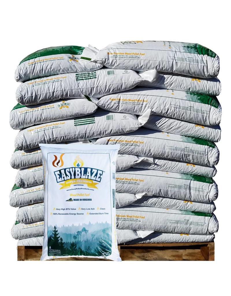 EasyBlaze Softwood Pellets - 1 Ton - Bucks Pellets
