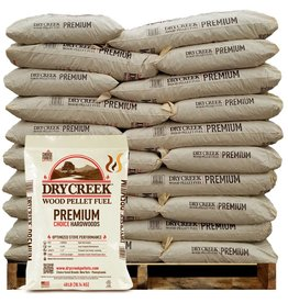 Dry Creek Dry Creek Wood Pellet Fuel - 1 Ton