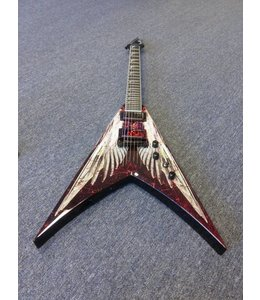 DEAN V DAVE MUSTAINE ANGEL OF DETH W/case