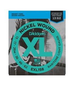 D'ADDARIO EXL158 BARITONE XL LITE
