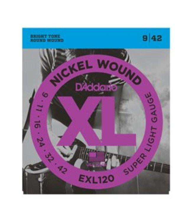 D'ADDARIO D'ADDARIO EXL120 SUPER LITE