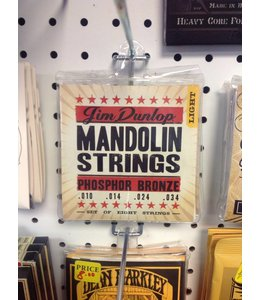 DUNLOP MANOLIN STRINGS LIGHT PHOSPHOR BRONZE