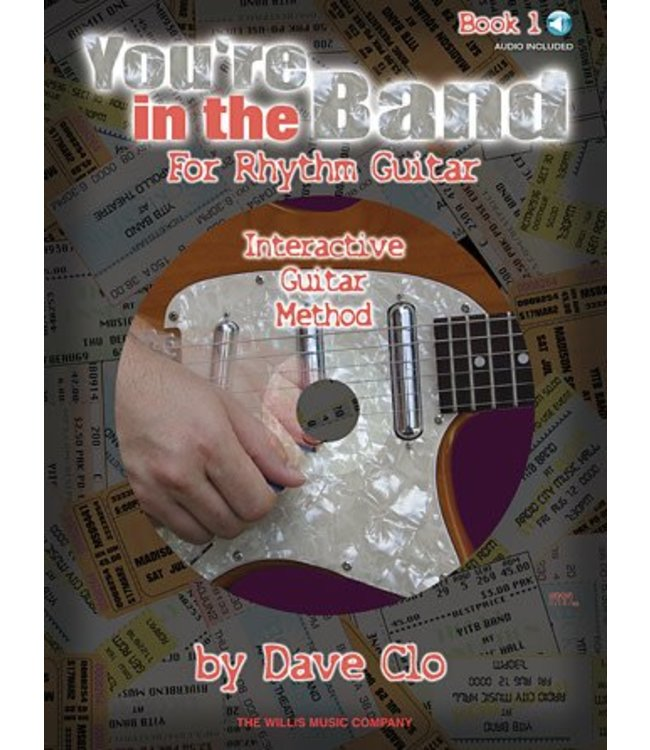 HAL LEONARD You're in the Band – Interactive Guitar Method Book 1 for Rhythm Guitar