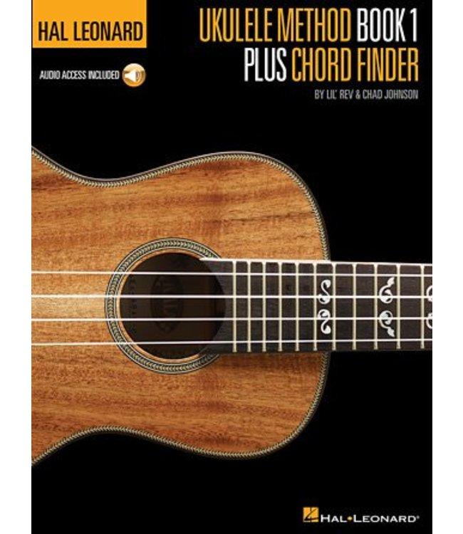 HAL LEONARD Hal Leonard Ukulele Method Book 1 Plus Chord Finder