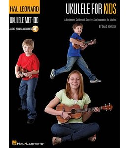 HAL LEONARD Ukulele for Kids – The Hal Leonard Ukulele Method A Beginner's Guide with Step-by-Step Instruction for Ukulele