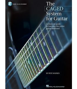 HAL LEONARD The CAGED System for Guitar A Clear-Cut Guide to Learning the Entire Guitar Fretboard