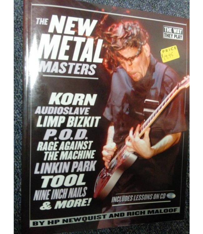 HAL LEONARD The New Metal Masters