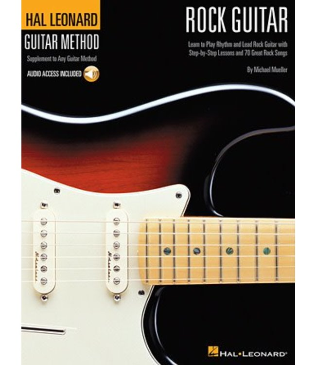 HAL LEONARD Hal Leonard Rock Guitar Method