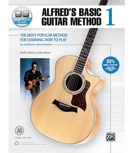 Alfred Alfred's Basic Guitar Method 1 (Third Edition)