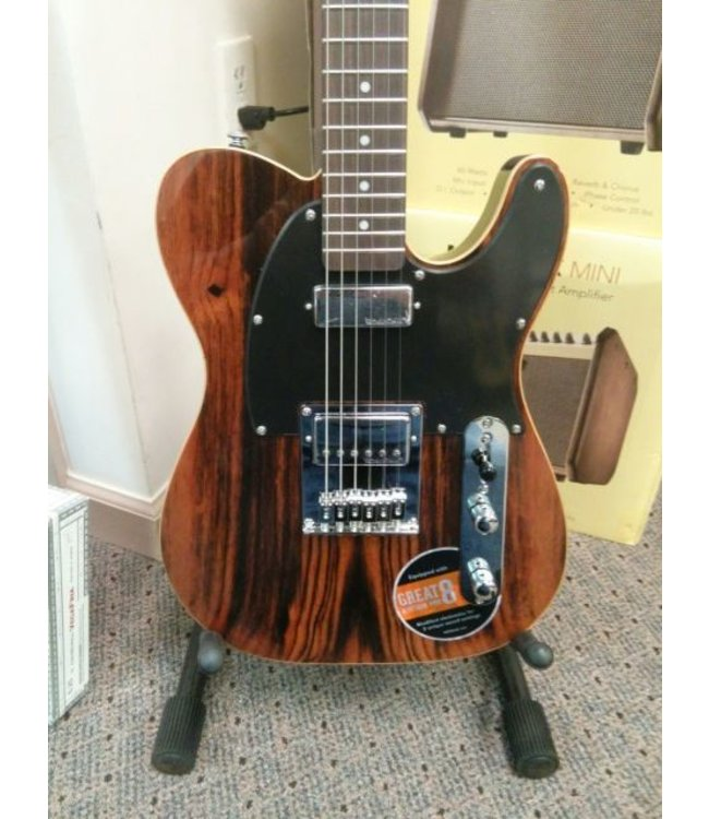 MICHAEL KELLY Michael Kelly 1955 Custom Collection Striped Ebony