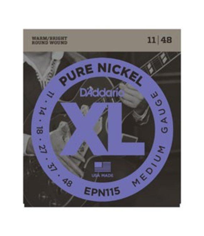 D'ADDARIO D'ADDARIO EPN115 ELEC GTR NICKEL BLUES/JAZZ