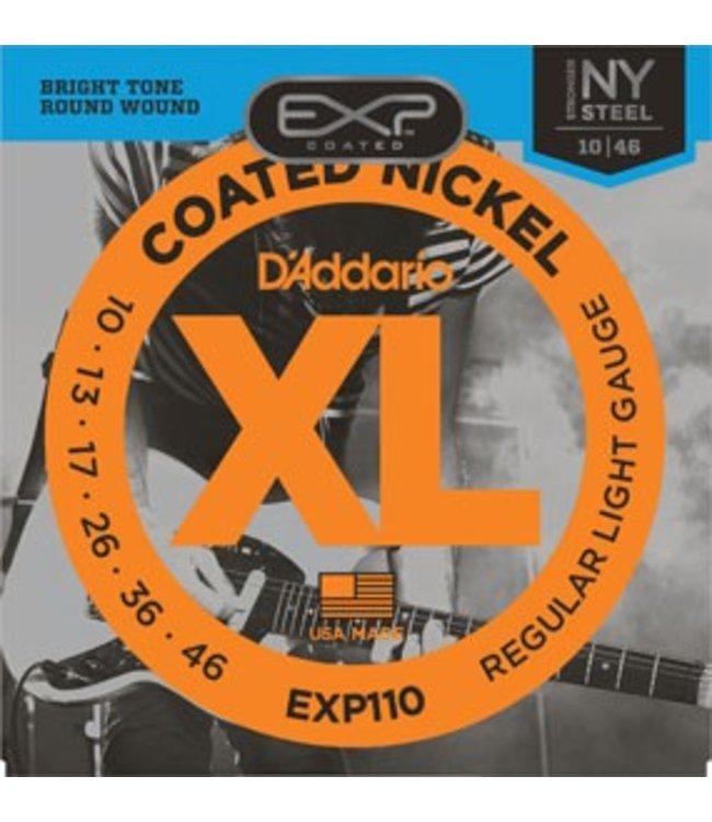 D'ADDARIO D'ADDARIO EXP110 ELECTRIC GUITAR REG. LITE
