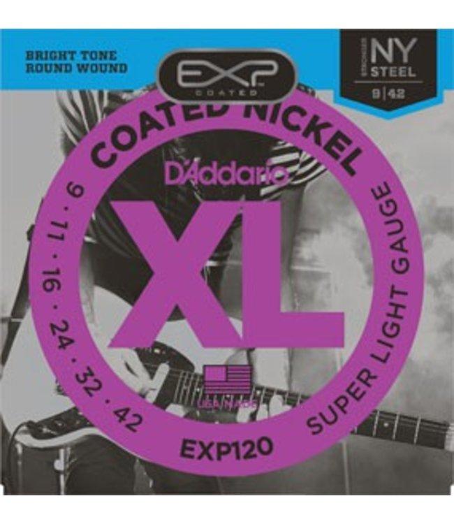 D'ADDARIO D'ADDARIO EXP120 ELECTRIC GUITAR SUPER LITE