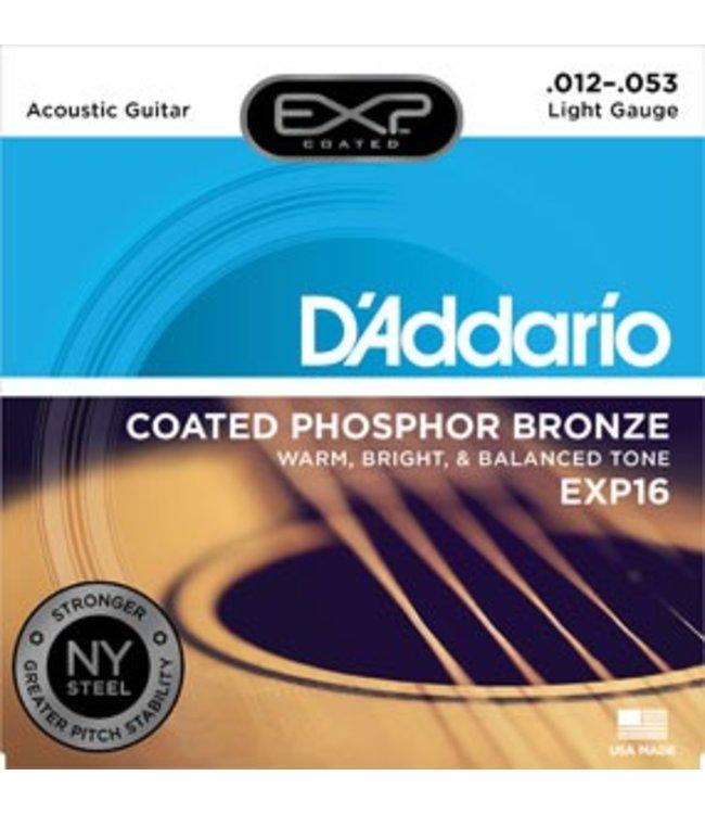 D'ADDARIO D'ADDARIO EXP16 ACOUSTIC EXP PHOSPHER BRONZE LITE