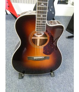 FENDER PARAMOUNT SERIES PM-3 DELUXE 000 SUNBURST ACOUSTIC-ELECTRIC GUITAR W CASE