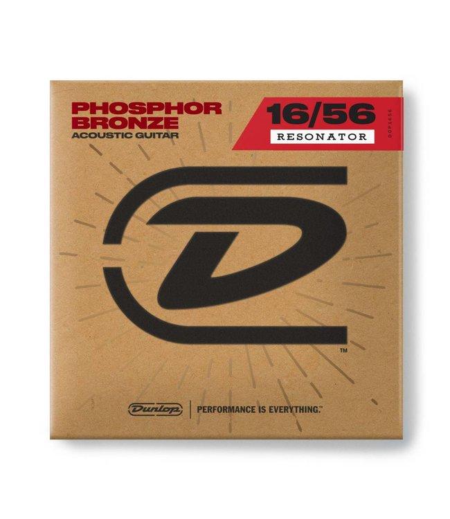DUNLOP Dunlop Resonator Strings Phospher Bronze 16/56