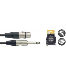 STAGG Stagg 10FT Mic Cable  XLRf-PLUG DLX