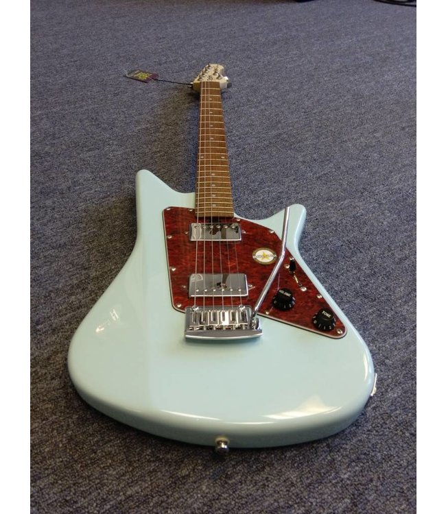 Sterling By Music Man  Albert Lee HH with Rosewood Fretboard Daphne Blue