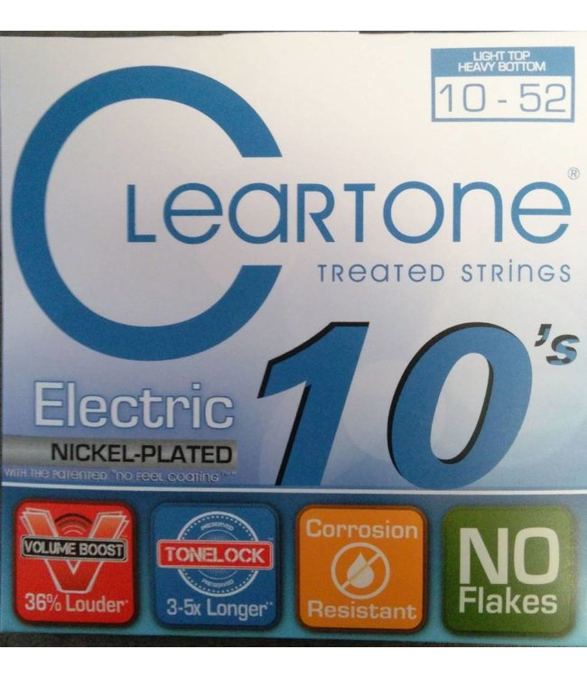CLEARTONE Electric 10-52 Light Top/Heavy Bottom