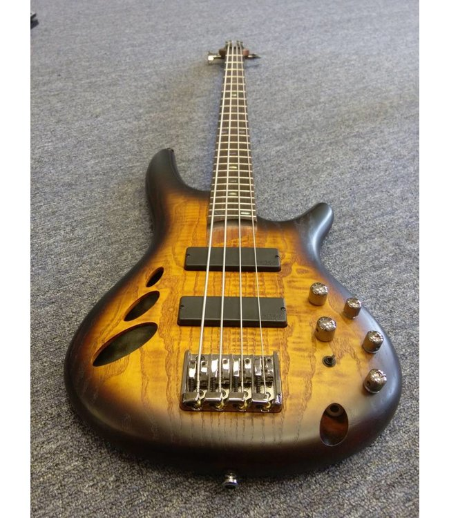 IBANEZ SR30TH4 30th Anniversary Semi-Hollow 4-String Bass Natural Browned Burst Flat
