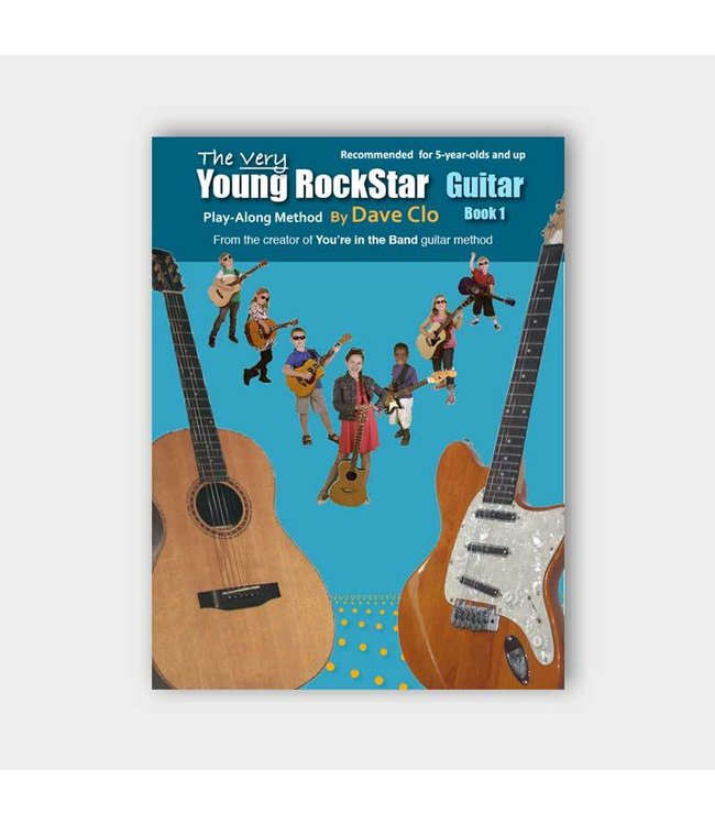 Willis Music Company The Very Young Rockstar: Guitar Method Book 1