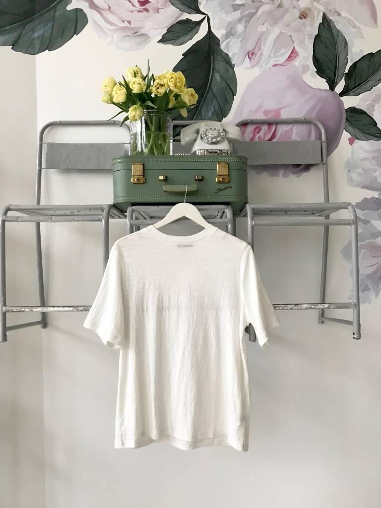 Short Sleeve Textured T Shirt