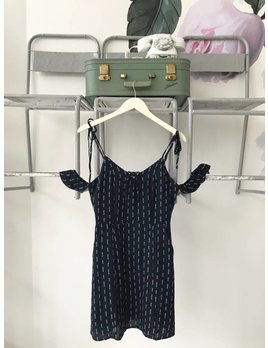 MELROSE Navy Mini Dress