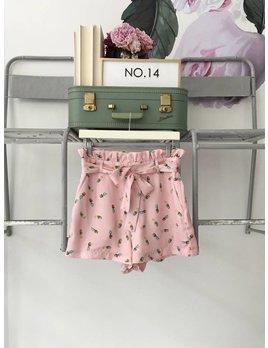 Pineapple Daze Pink Shorts