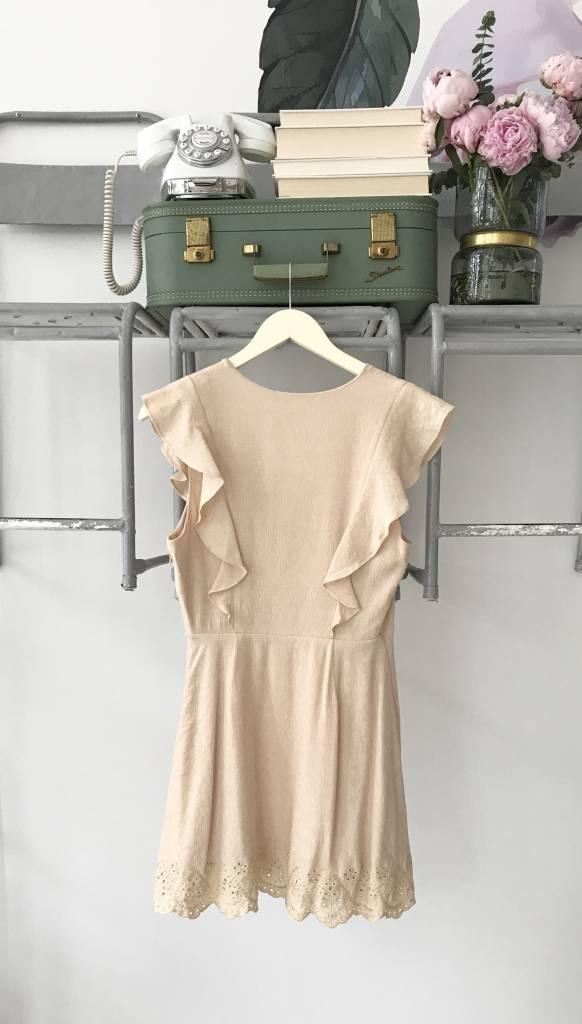 DULCE DE LECHE Mini Dress PEACH