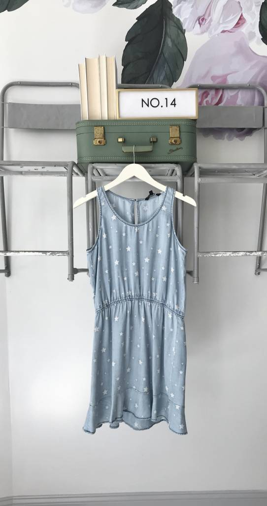 Star Denim Dress