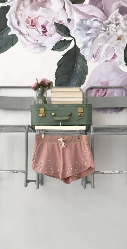 Pearl Beaded Shorts