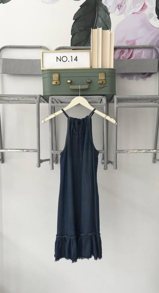 Denim Dropwaist Tank Dress